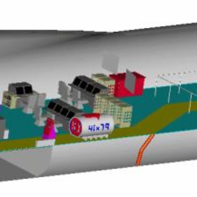 Flugzeug - technische Skizzen