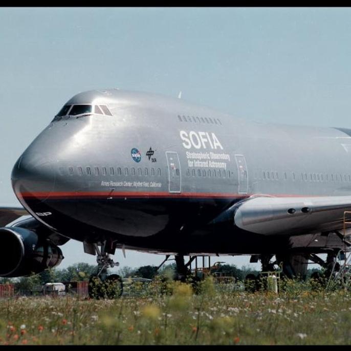 Flugzeug - Außenansicht
