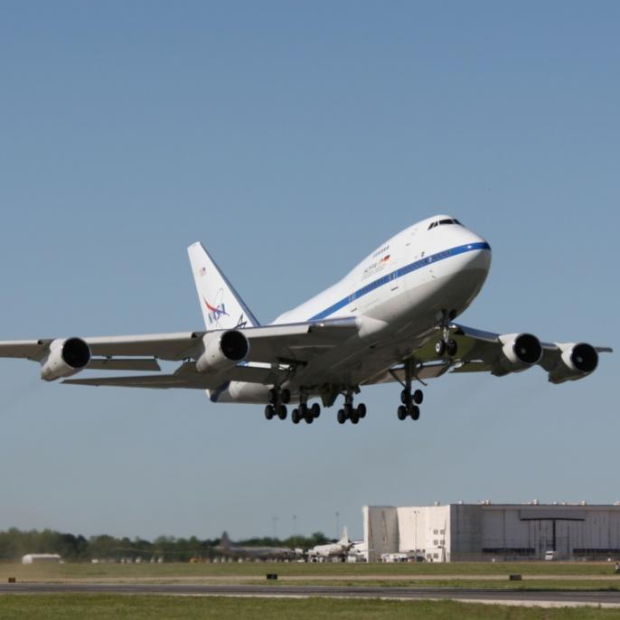 Erstflug am 26.04.2007: SOFIA hebt ab