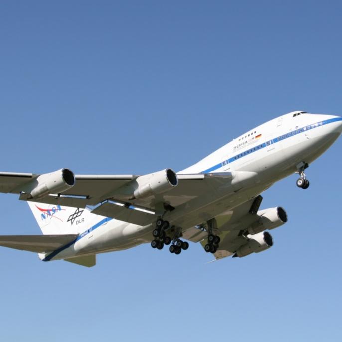 Erstflug am 26.04.2007: SOFIA ist gestartet