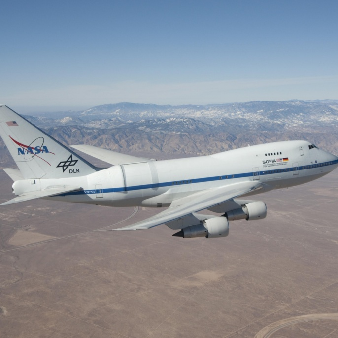 SOFIA-Testflug vom 9. Dezember 2009