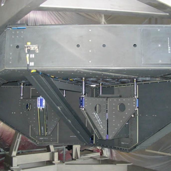Einbau des Teleskops