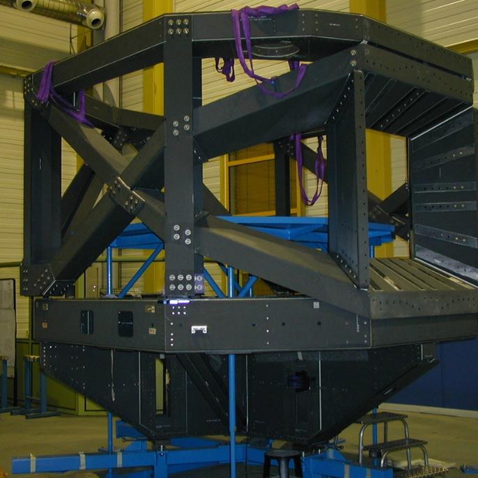 Teleskop - Tragestruktur