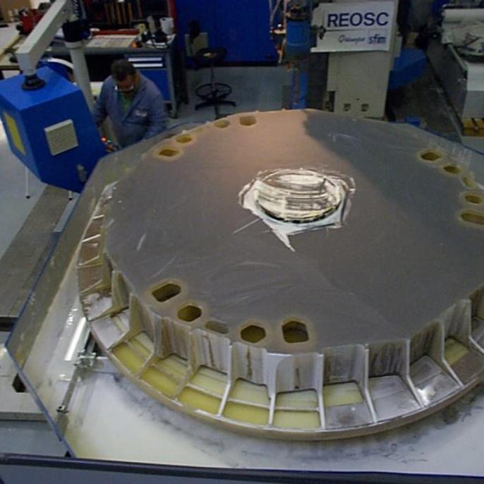 Teleskop - Hauptspiegel