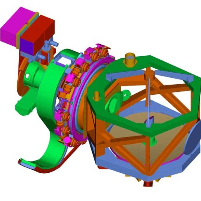 Teleskop - technische Skizzen