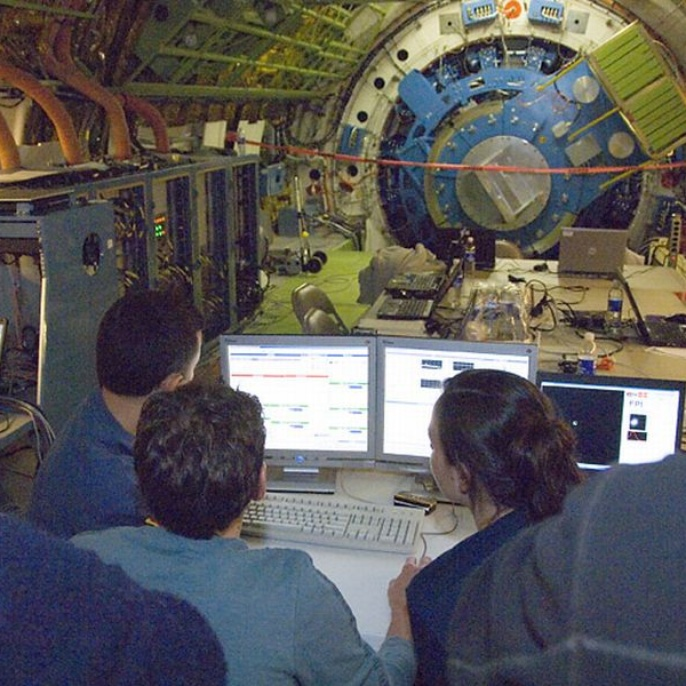 November 2008 - Teleskop erfolgreich am Boden getestet