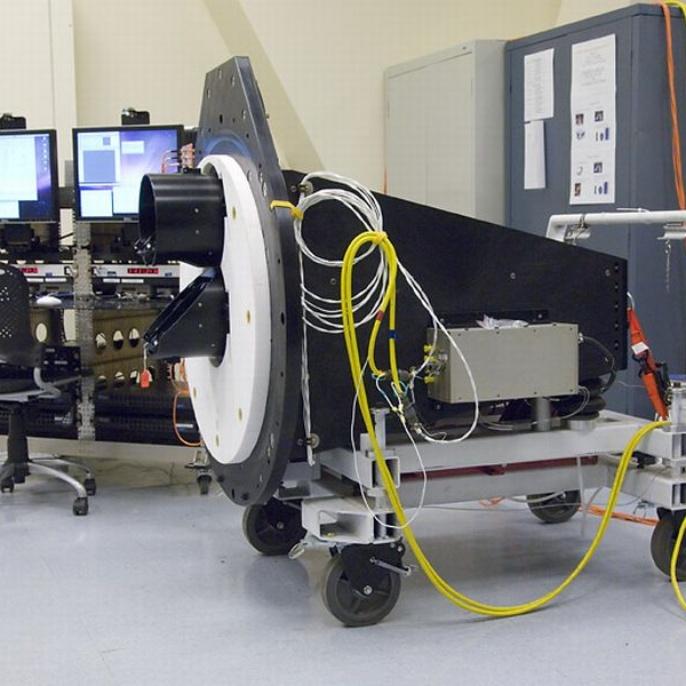 November 2008 - Teleskop erfolgreich am Boden getestet: HIPO, das