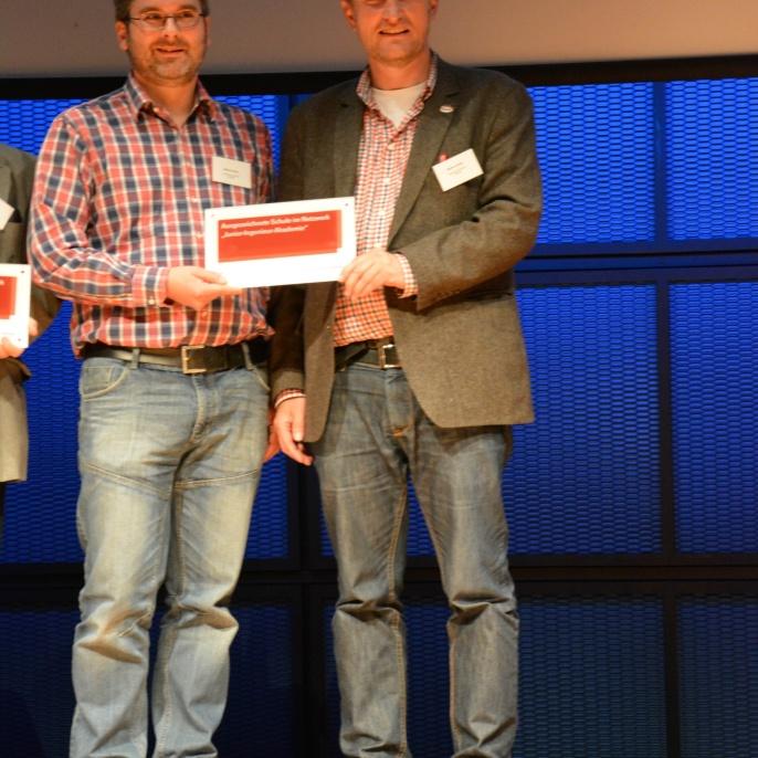 Matthias Deters und Mathias Schäfer bei der Jahrestagung im April 2015