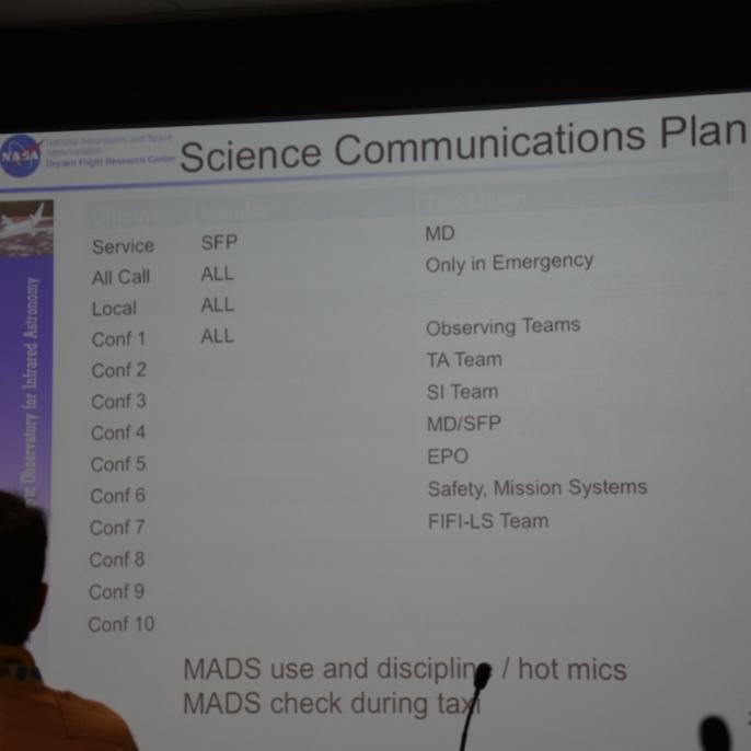 Überblick über die Kommunikationskanäle an Bord; copyright @ DSI