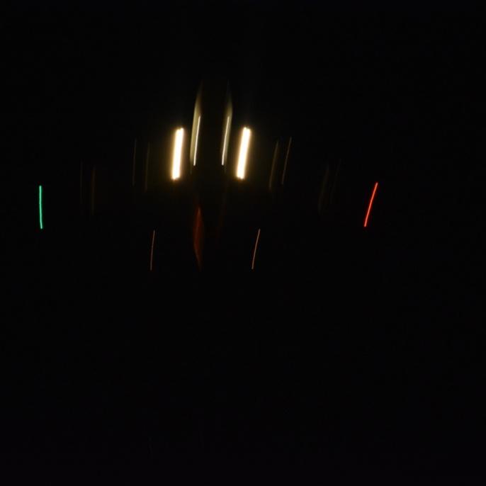Start von SOFIA 3: Belichtung 1/4 Sek.