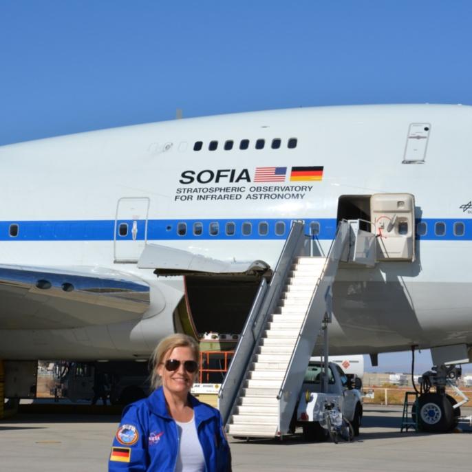 Manuela von Werder vor SOFIA