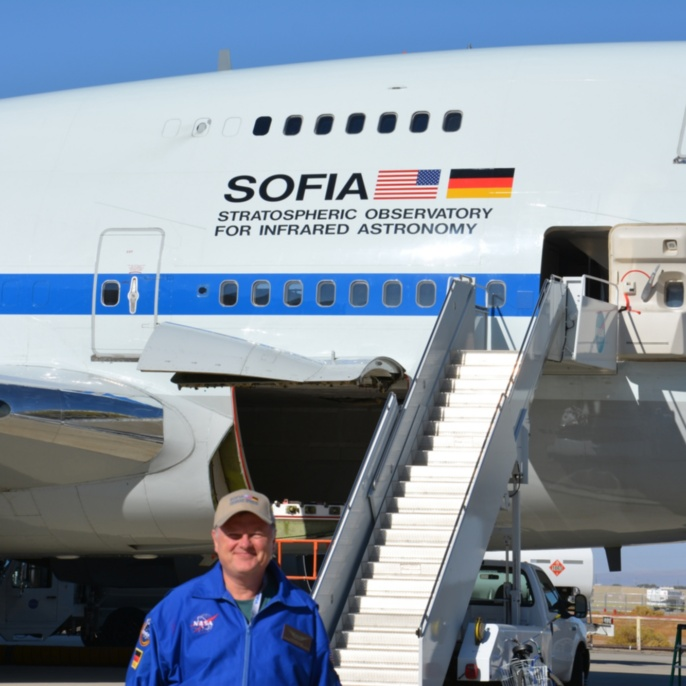 Wolfgang Claas vor SOFIA