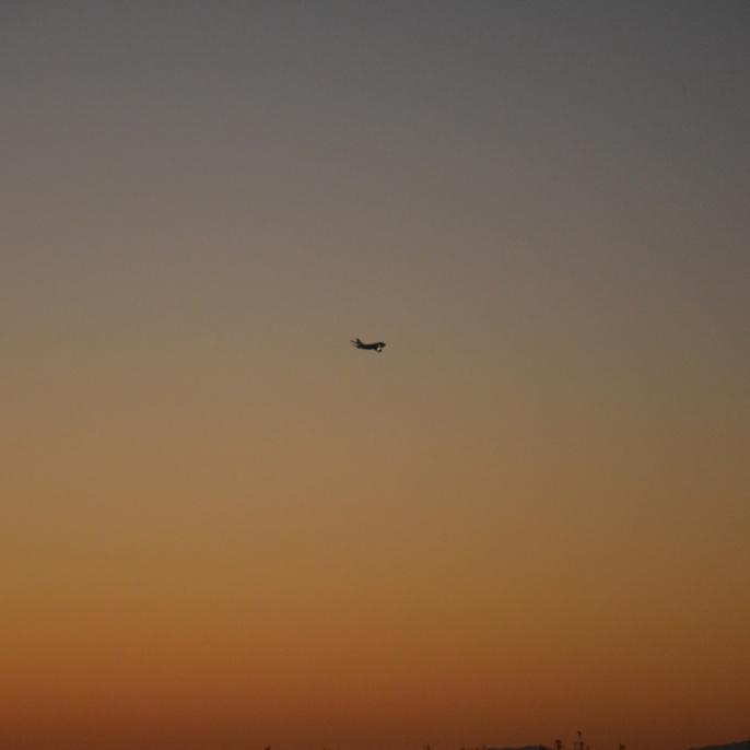 SOFIA im Abendhimmel