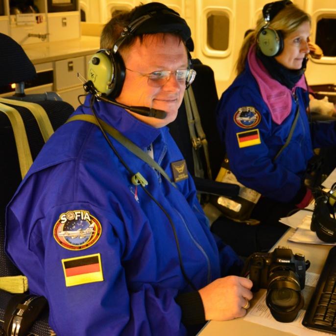 Wolfgang Claas und Manuela von Werder an der EPO-Konsole