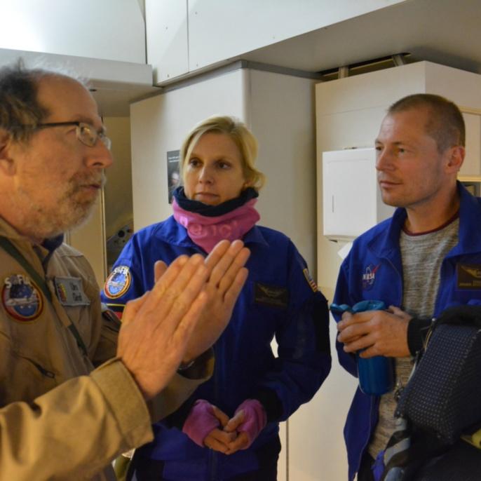 Urs Graf vom GREAT-Team mit Manuela von Werder und Thomas Ulrich