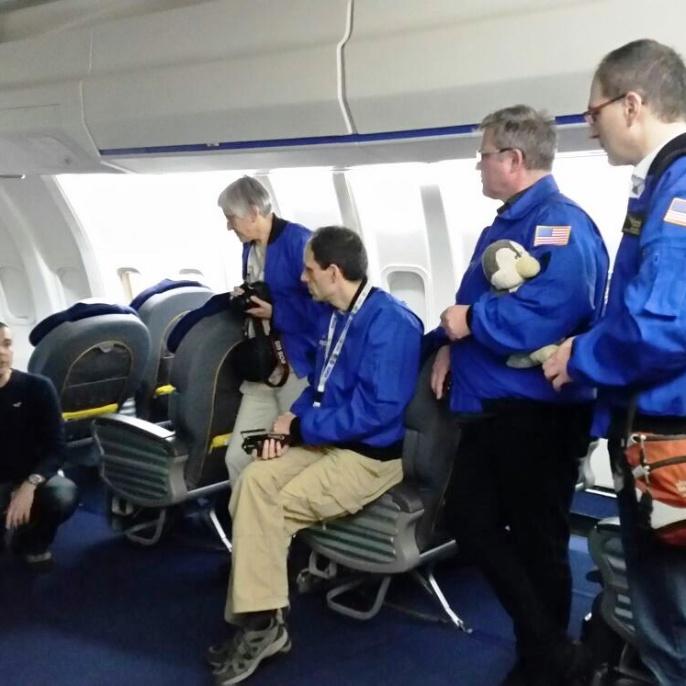Bei der Führung mit DSI Ingenieur Oliver Zeile (links)
