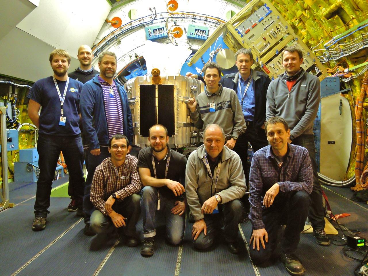 Das FIFI-LS Installation Team
