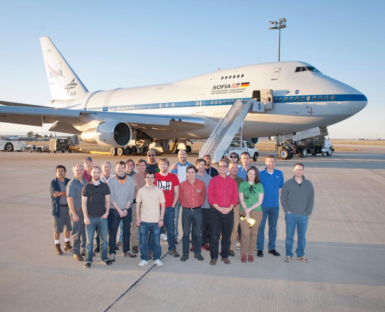 FIFI-LS, Boden- und Flug -Team
