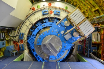 Das SOFIA Teleskop mit einem Masse-Dummy statt eines wissenschaftlichen Instruments