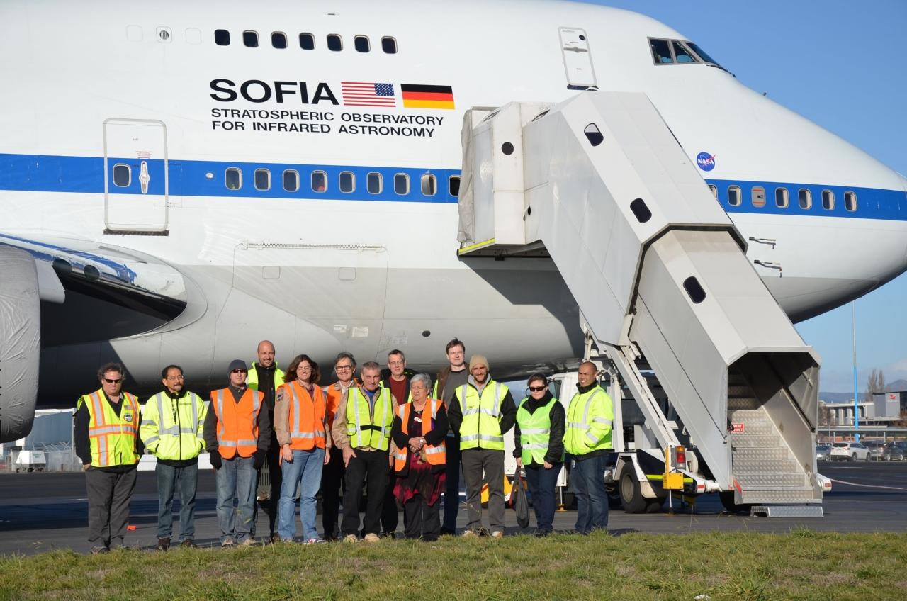 SOFIA Team in Christchurch