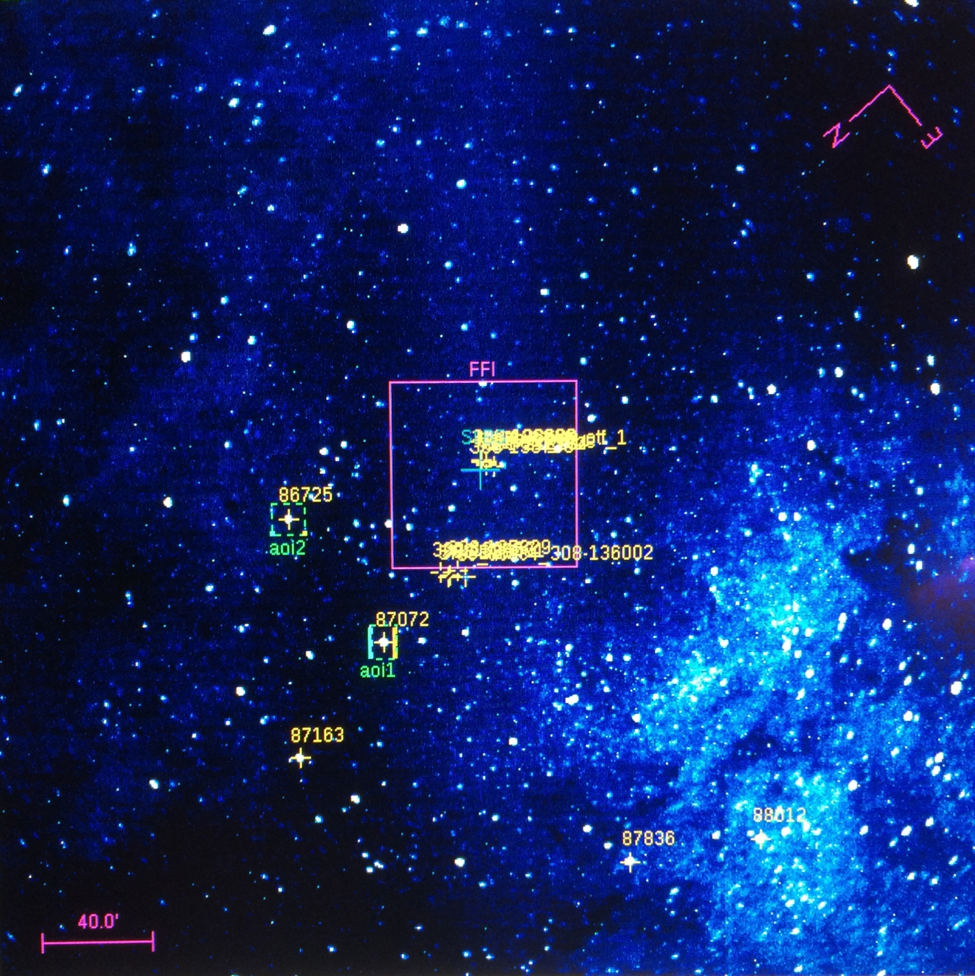 Galactic Center with FPI+
