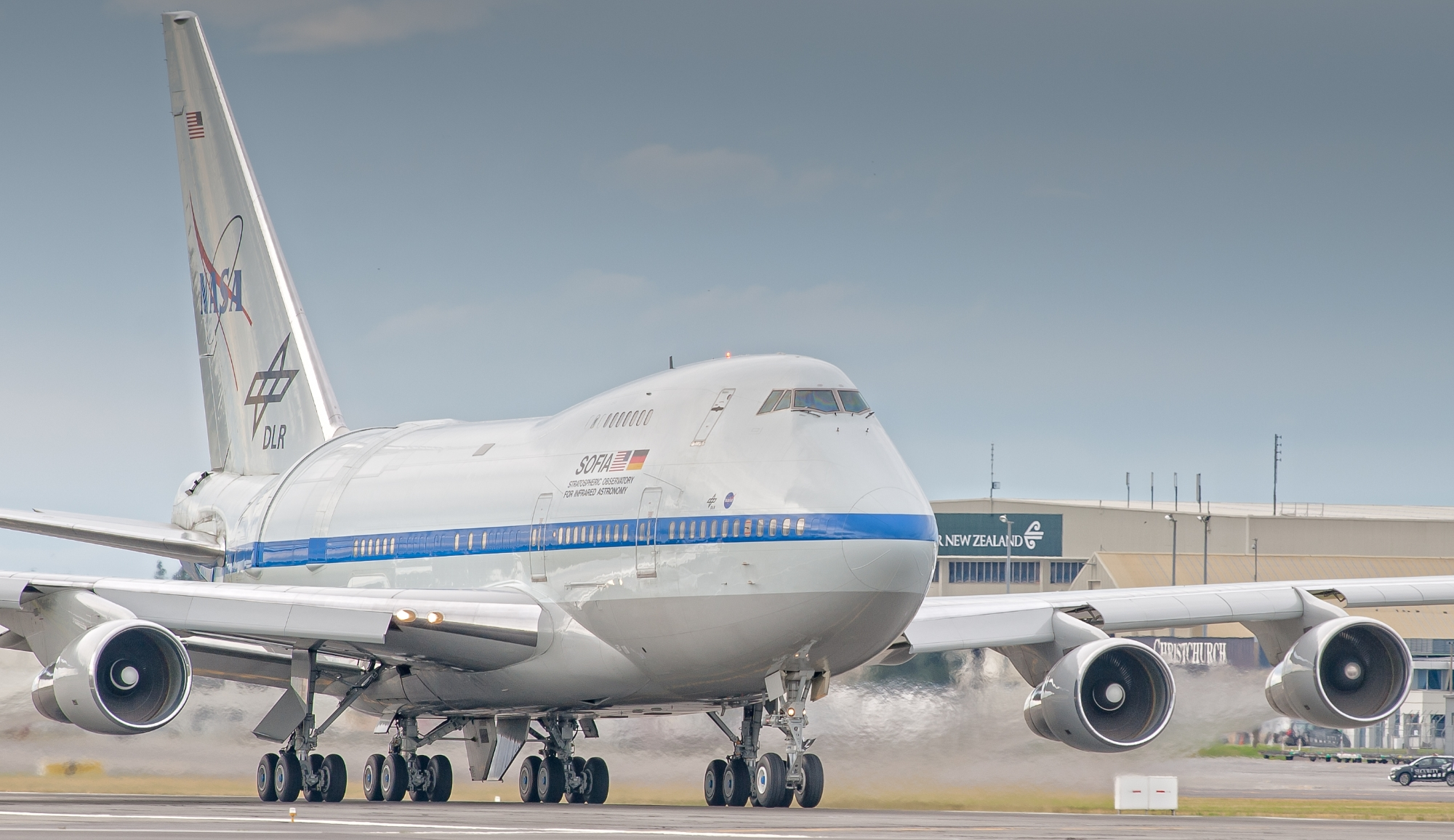 SOFIA departure from NZ 2017