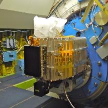 FIFI-LS montiert am SOFIA Teleskop DSI