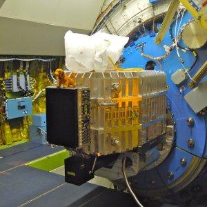 FIFI-LS mounted to the SOFIA telescope.