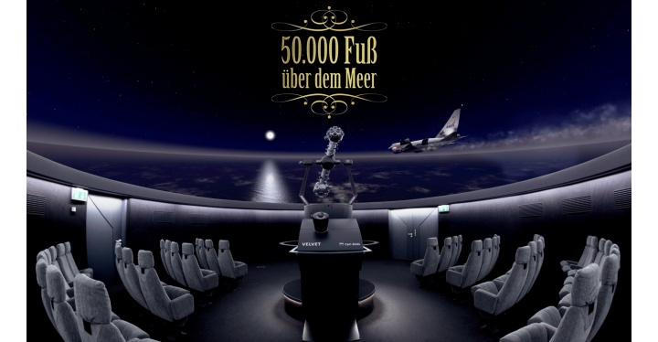 50.000 Fuß über dem Meer - die fliegende Sternwarte SOFIA