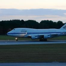 SOFIA ist um 19:13 am Hamburger Flughafen zur turnusmäßigen Wartungs bei Lufthansa Technik gelandet. SOFIA ist um 19:13 am Hamburger Flughafen zur turnusmäßigen Wartungs bei Lufthansa Technik gelandet.