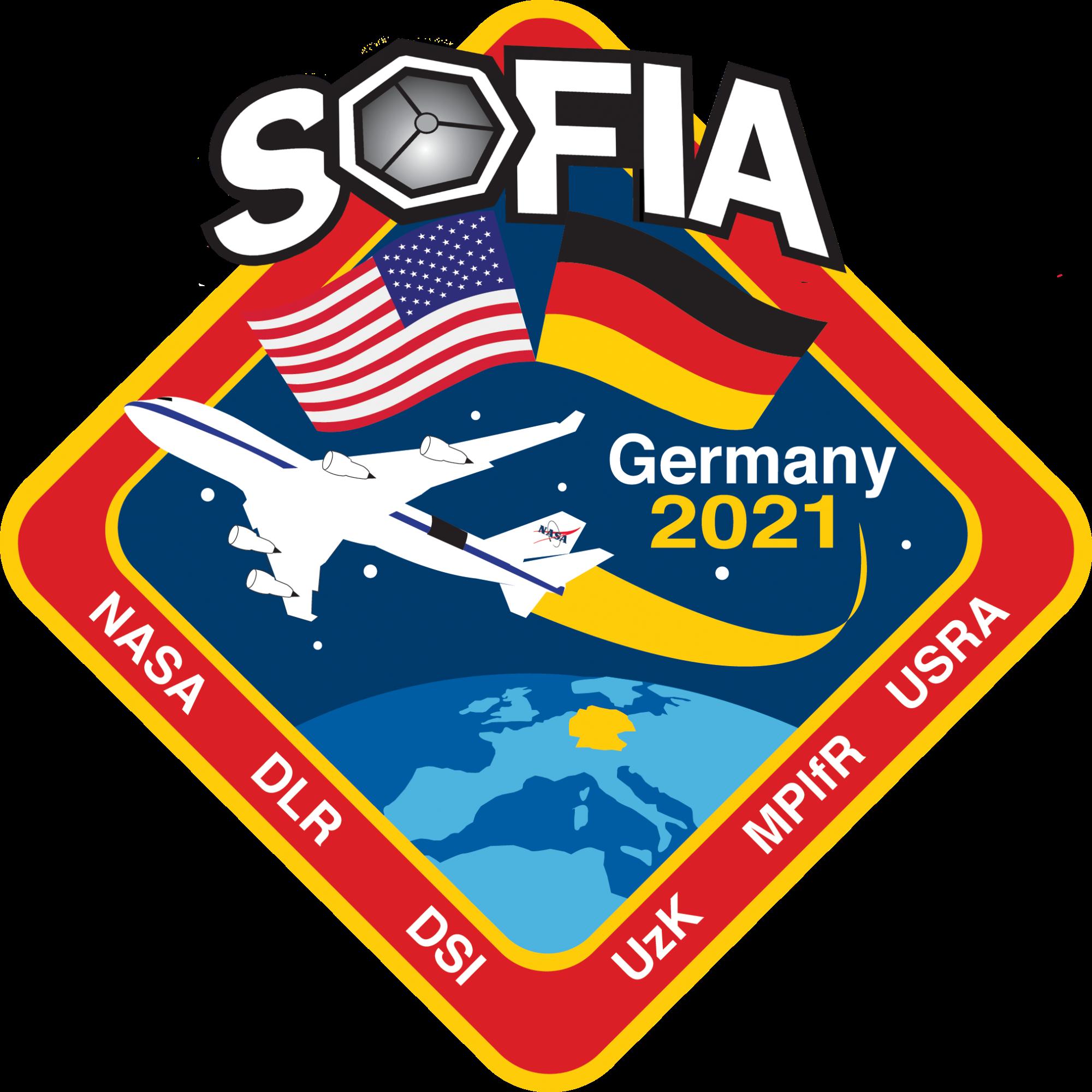 Mission Patch der Wissenschaftskampagne vom Flughafen Bonn Köln