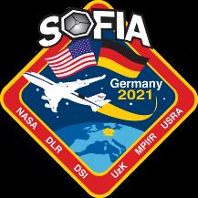 Mission Patch der Wissenschaftskampagne vom Flughafen Bonn Köln NASA /DLR