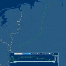 Flugroute von Hamburg nach Köln Flightaware