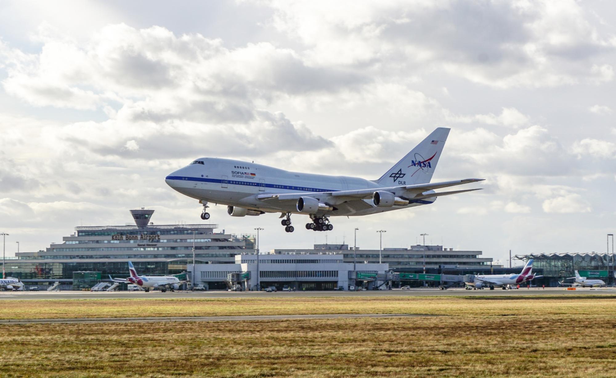 Landung in Köln