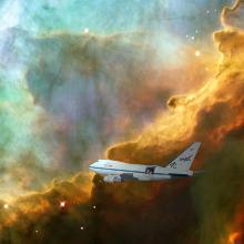 Ein Team unter der Leitung von Maitraiyee Tiwari hat das erste klare Bild einer sich ausdehnenden Blase aus stellarem Gas erstellt, in der Sterne geboren werden. SOFIA-Daten haben einen wesentlichen Beitrag dazu geleistet.