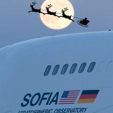 Das SOFIA Team wünscht schöne Weihnachten und eine geruhsame Zeit.