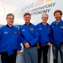 Den Sternen ein Stück näher: vier deutsche Lehrer erleben aktuelle Forschung an Bord von SOFIA