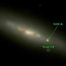 FLITECAM gewinnt nahinfrarot Spektren von SN2014J82