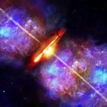 Fireworks for birth of massive stars